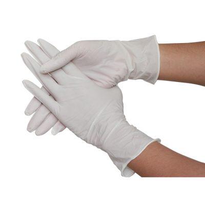 Găng tay cao su nitrile/ latex